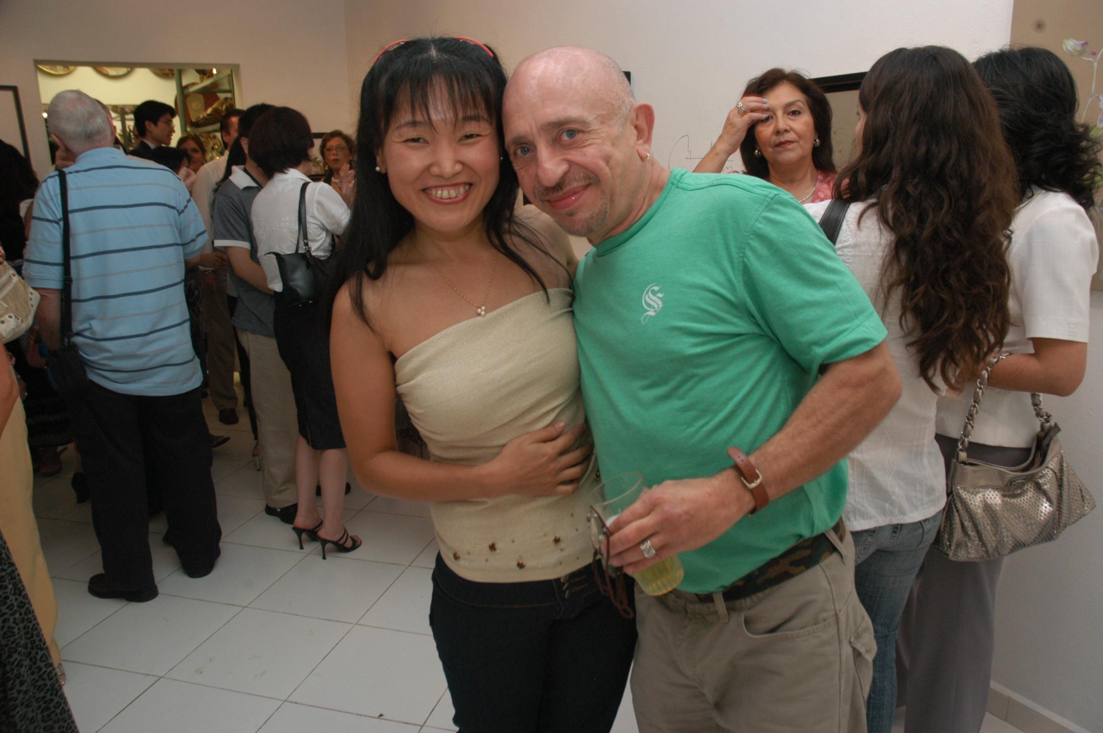 Con Ricardo Migliorisi (2008)